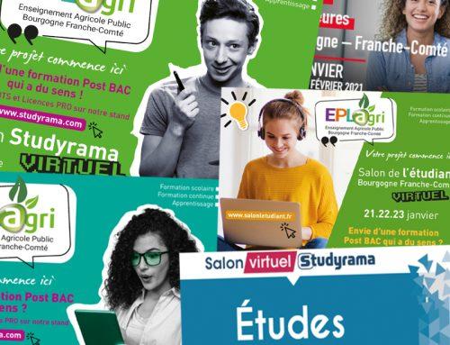 Place aux Salons virtuels du SUP!